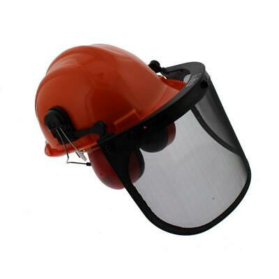 £22.75 • Buy ALM Chainsaw Garden Safety Helmet With Visor Safety Screen & Ear Defenders CH011