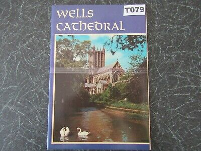 Vintage GUIDE, WELLS CATHEDRAL, Somerset, 7½ X 5 , Jarrold, 22 Pages,  1971 • 2£