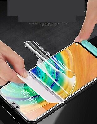 AU3.94 • Buy For Samsung Galaxy S21 S20 FE Ultra S9 S10 Note 10 20 Hydrogel  Screen Protector