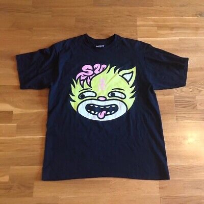 £39.52 • Buy T-Shirt Drop Dead Clothing - Kitty Brainz V2 Size Large(L) Oliver Sykes BMTH DD