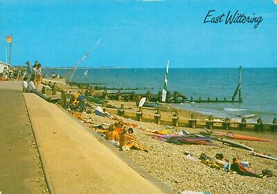 £3.99 • Buy The Beach East Wittering Postcard (J Salmon Ltd. Cameracolour) 1980s