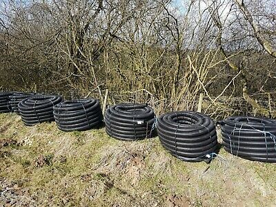 50/63mm Class 3 Electric Cable Black Ducting Coil (50m * 7 Coils) • 250£