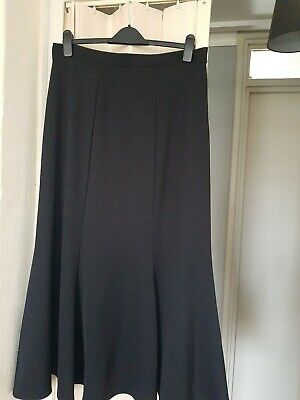 Maxi Length Fishtail Mermaid Fit Flare Godet Style Causal Smart Skirt Size 16 • 11£