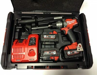£37 • Buy Milwaukee M18 Set1d-503x Fuel 18v Hammer Drill Case ( Empty Case Only )