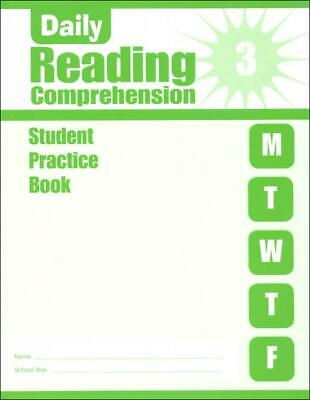 £9.26 • Buy Daily Reading Comprehension, Grade 3 Sb By Evan-Moor Educational Publishers (Eng
