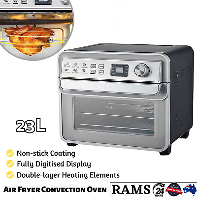 AU138.79 • Buy Healthy Choice 23L Air Fryer Convection Oven Toaster Rotisserie Healthy Cooker