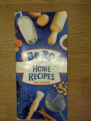 Be-Ro Recipe Home Recipes Book 40th Edition Vintage Cookery Retro • 24.99£