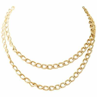£851.79 • Buy Curb Link 10 Karat Gold Chain Necklace