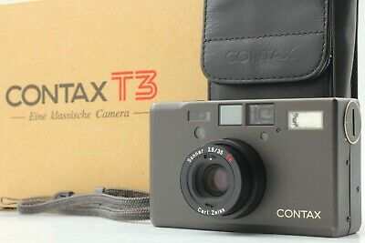 $ CDN2882.35 • Buy [NEAR MINT In BOX] Contax T3 D Black Double Teeth Data Back Case From Japan Ko95