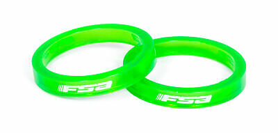 AU24.99 • Buy Fsa Polycarbonate Headset Spacer (1.1/8, 5Mm, Green, _10)