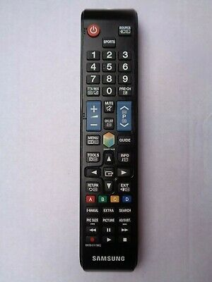 AU30 • Buy Samsung BN59-01198Q TV Remote Control - Black - Used