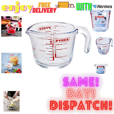 £8.79 • Buy Pyrex Classic Glass Measuring Jug High Heat Resistance 0.25 Ltr - Free Delivery