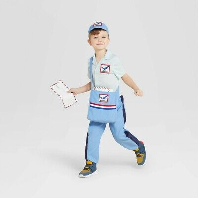 $12.99 • Buy Hyde And EEK Toddler Mail Carrier Post Man Halloween Costume 2T 3T