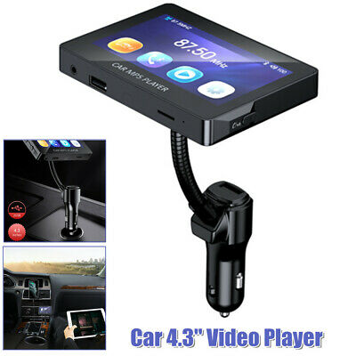 $47.24 • Buy 4.3 Video Player Screen Display Bluetooth5.0 USB/TF/AUX Stereo Radio MP5 Android