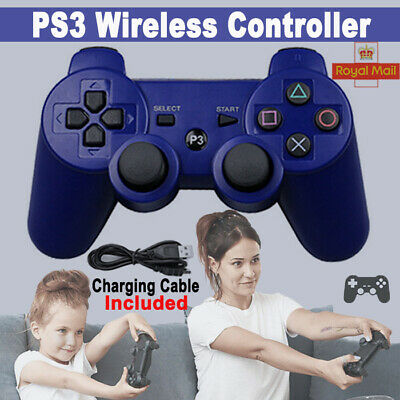 New Blue PS3 Bluetooth Wireless Controller Control For Playstation 3 Fast Ship • 9.99£