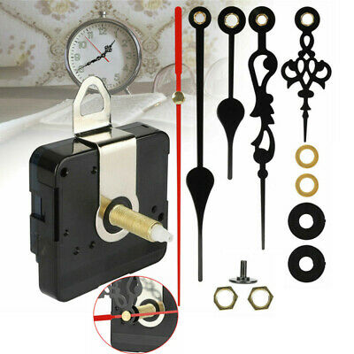 AU11.99 • Buy Silent DIY Quartz Movement Wall Clock Motor Mechanism Long Spindle Repair Kit AU