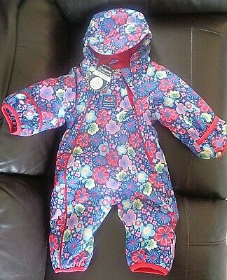 £35 • Buy BNWT - Jojo Maman Bebe Snow Puddle Suit Fleece Lined  All-in-one Age 3-6 Months