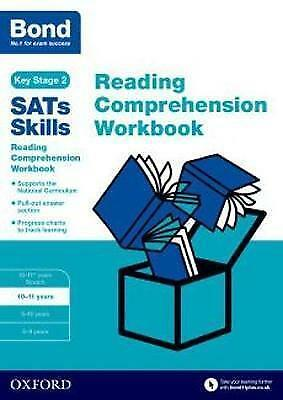 £5 • Buy Bond SATs Skill Reading Comprehension Workbook 10-11 Years Paperback Book
