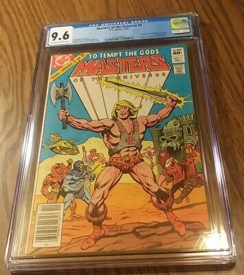 $325 • Buy Masters Of The Universe #1 CGC 9.6 1982 1st MOTU Comic Series - Newsstand Issue