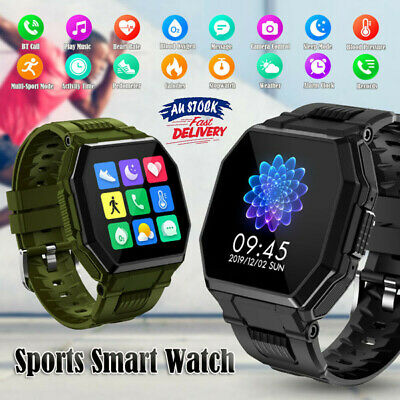 AU44.69 • Buy Sports Smart Watch Bluetooth-Call Blood Oxygen/Presure For IPhone IOS Android