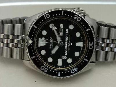$ CDN210.28 • Buy Vintage Seiko Diver 6309-729a Scubapro Mod Automatic Mens Watch 5d5094