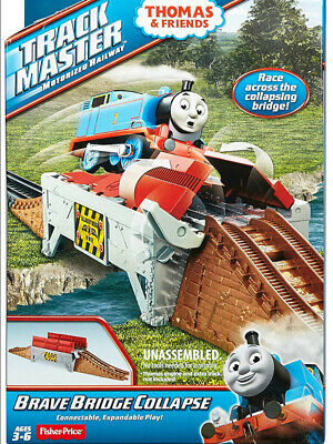 £12.95 • Buy BRAVE BRIDGE COLLAPSE Track Expansion Pack For Thomas Trackmaster Train Set