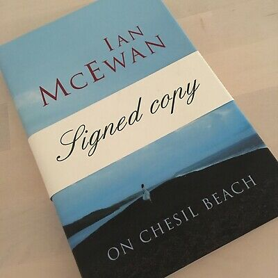 £45 • Buy Signed・1st Edition・On Chesil Beach By Ian McEwan・New・Hard Cover・2007