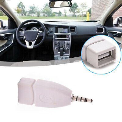 $2.31 • Buy 1x AUX Audio 3.5mm Male Plug To USB 2.0 Female Converter Adapter Jack Car Parts