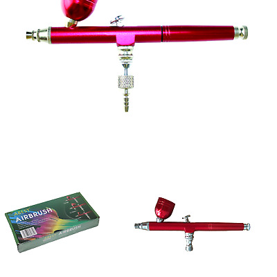 $22.72 • Buy HUBEST New 0.3mm Gravity Feed Dual-Action Airbrush Paint Spray Gun Kit Set