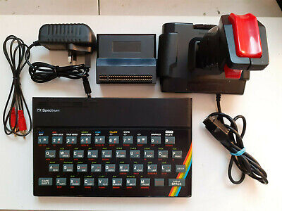 AU224.96 • Buy ZX Spectrum 48K Issue 6A W/ Joystick Working And Tested