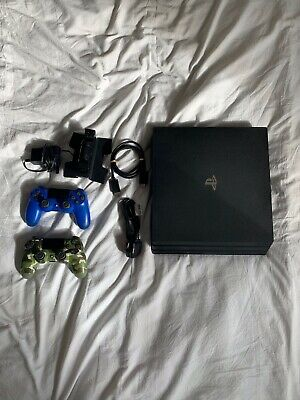 AU405.72 • Buy PS4 Pro 1TB With 2 Controllers And DualShock Charging Dock