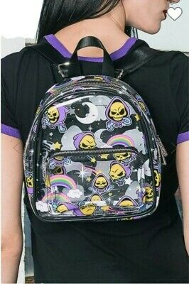 £29.99 • Buy Killstar X Skeletor Not Cute Backpack Bag Gothic Witchy Masters Of The Universe