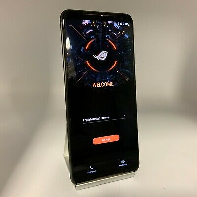 AU904.79 • Buy Asus ROG Phone 2 512GB Black Unlocked Dual SIM Very Good Condition +External Fan