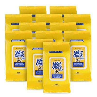 $ CDN82.20 • Buy Wet Ones For Pets Deodorizing Multi-Purpose Dog Wipes With Baking Soda 100 Ct...