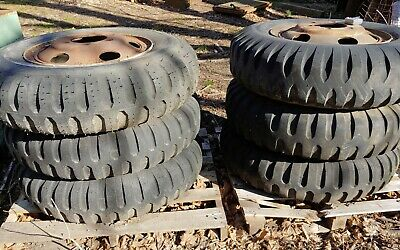 $600 • Buy 6x Military Truck 9.00-20 Wheels And Tires