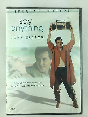 AU9.16 • Buy Say Anything John Cusack (DVD, Special Edition) 1980s Classic Sealed New