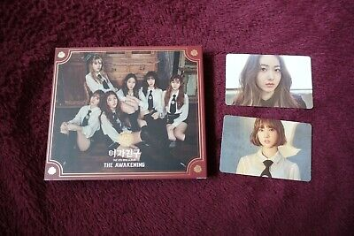 GFriend Awakening 4th Mini Album (Knight Ver) (with Eunha Sinb Photocards) Kpop • 18£