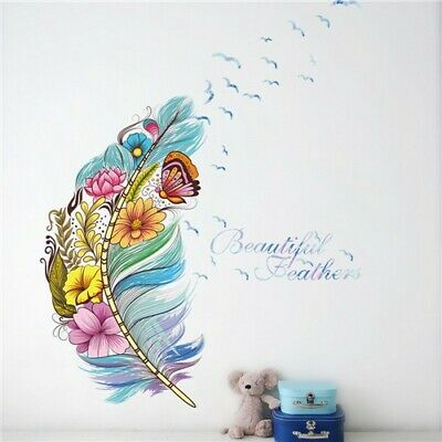 AU2.73 • Buy Colorful 3D Butterfly Birds Flower Wall Stickers Decoration Room Wall Stickers