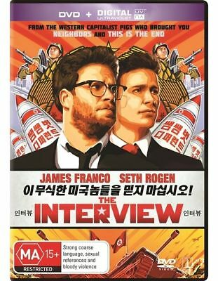 AU12.49 • Buy The Interview : James Franco : NEW DVD