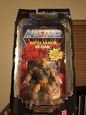 $81 • Buy Battle Armor He-Man MOTU Commemorative Figure MOC Sealed Masters Of The Universe