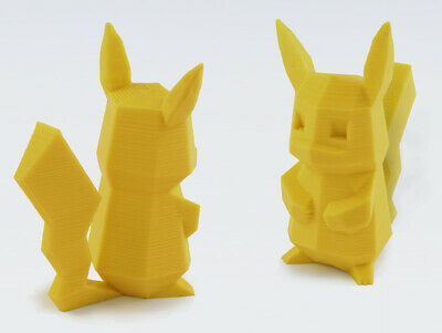 $14.99 • Buy  Pokemon Pikachu - 3D Printed -Low Poly - 3D Printed - **MADE IN USA**