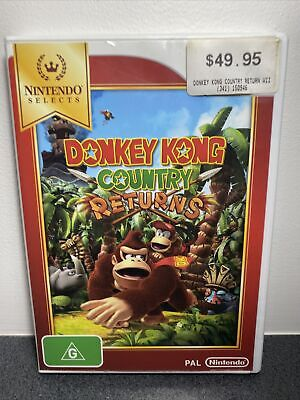AU21.99 • Buy Nintendo Wii Donkey Kong Country Returns Complete With Manual