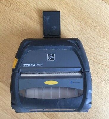 $ CDN509.53 • Buy Zebra ZQ520 Printer With Charger - Tested - Grade A With Battery, 301 Pwr Cycles