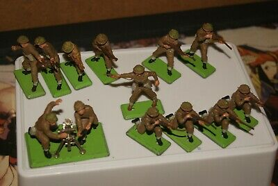Britains Deetail, Ww2,  British Army Infantry,. Mortar ..1/32 Toy Soldiers. • 29.99£