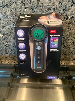 $ CDN41.05 • Buy Braun  3-in-1 No Touch Forehead Thermometer BNT400 Black UPC 0100328785001648