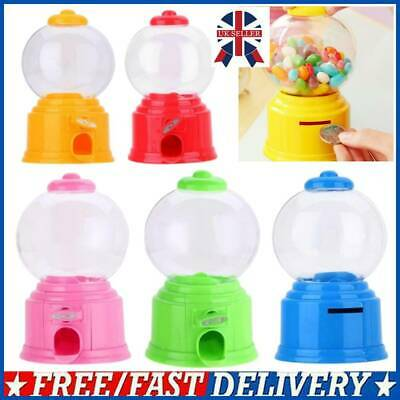 £5.69 • Buy Cute Sweets Mini Candy Machine Bubble Gumball Dispenser Coin Bank Kids Toy Gift