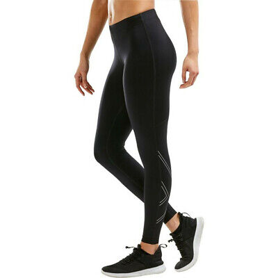 £34.99 • Buy 2XU Womens Aspire Compression Tights Bottoms Pants Trousers Black Sports Running