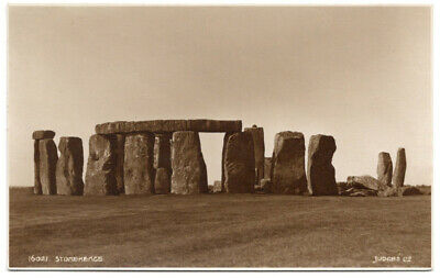 Vintage Old Postcard Stonehenge Wiltshire Judges 16021 RP Unused • 6£