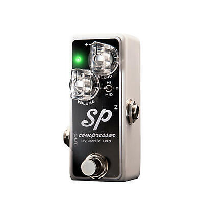 Xotic SP Compressor Guitar Effects Pedal • 101.97£