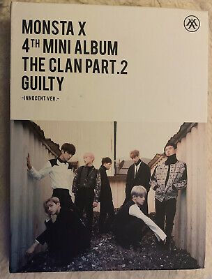 Monsta X 4th Mini Album The Clan Part 2 Guilty • 8£